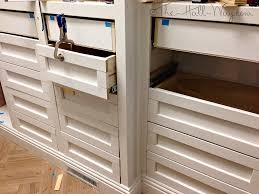 Cabinet Drawer Rails Master Closet Part 6 The Hall Way