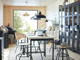 ikea office organizers. Ikea Office Pine Work Desk Has A Thick Worktop Surface With An Industrial  Feel For Any Organizers