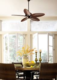 ceiling fan for dining room. Featuring ABS Palm Blades, The 52\ Ceiling Fan For Dining Room
