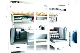 bunk bed with desk ikea. Bunk Bed And Desk Loft With White Ikea Canada O