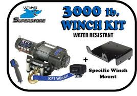 3000lb kfi winch mount kit 2015 arctic cat xr 550 700 1000