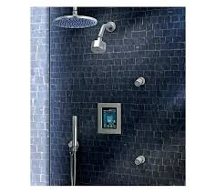 electronic shower system showers systems by digital rain photo of prompt moen electronic shower system