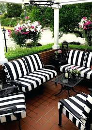 teak outdoor furniture with sunbrella cushions patio no cushion replacement without