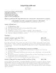 Federal Resumes Examples Amazing Best Resume Samples For Administrative Assistant Simple Resume Format