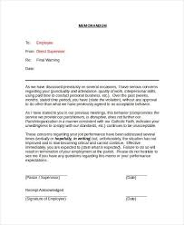 Memorandum Sample Memorandum Sample For Employee Cover Letter Format And Bussines