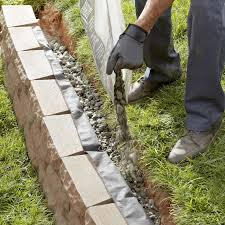 how to build a retaining wall using wall blocks