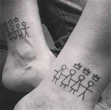 80 Sinnvolle Geschwister Tattoos Für Brüder Und Schwestern 2018