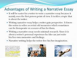 elements of a narrative essay narrative essay a narrative essay  advantages of writing a narrative essay it will be easier for a writer to write a