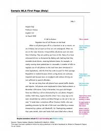example of a mla essay com example of a mla essay