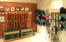 Every Tack Room Should Be Two Stories  Horse Barn Ideas Horse Tack Room Design