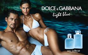 Spot profumo Light Blue 2017 con Bianca Balti e David Gandy girato a Capri