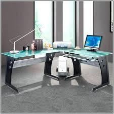 l shaped desk gaming setup. Delighful Desk Charming Gaming L Desk Impressive Setup Clever Design  Shaped Stylish With L Shaped Desk Gaming Setup G