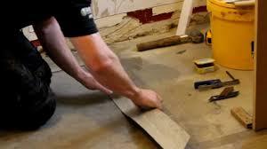 how to fit amtico flooring