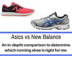 Asics Vs New Balance Detailing The Differences In The Shoe