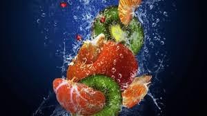 fresh fruit wallpaper. Fine Fresh Preview Wallpaper Fruit Fresh Water Drops Sprays Mandarin Kiwi Throughout Fresh Fruit Wallpaper L