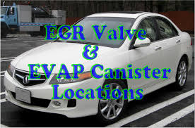 Acura TSX EVAP canister location - YouTube
