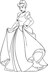 Cinderella Coloring Pages 06