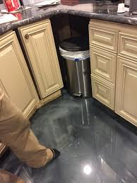 Epoxy Floor Kitchen Epoxy Flooring Charlotte Nc Garage Remodeling Contractors