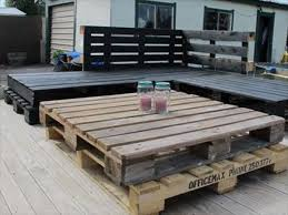 wooden pallet garden furniture. Pallet Patio Deck Wooden Garden Furniture H