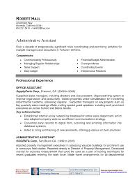 Brilliant Ideas of Sample Assistant Property Manager Resume In Description