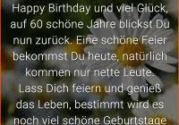Sprüche Zum 60 Geburtstag Lustig Frau Kurz Elegant Glückwünsche Zum