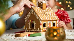 christmas house template the best gingerbread house template taste of home