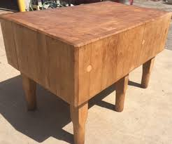 butcher block dining table. Butcher Block Dining Table