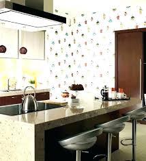 tasty kitchen wallpaper ideas borders grey brick