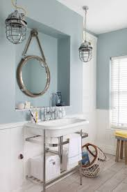nautical bathroom furniture. Rustic Nautical Bathroom Lighting Fixtures Over Mirror Themed Mirrors With Additional Adjustable Furniture