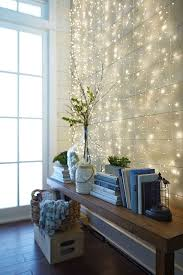 chic string lights ideas for entryways