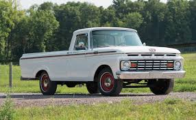 1963 Ford F-100 Custom Cab Unibody Pickup - American Car Collector