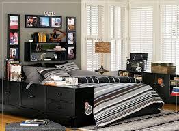 Black White Bed Cover Pillow Carpet Fur Rug Cabinet Shelves Frame Picture  Transparent Curtain Desk Lamp Boys Bedroom Ideas Mattress Teen Room Decor  ...