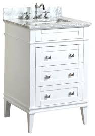 belvedere 24 inch modern white bathroom vanity with ceramic countertop top traditional home design