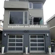 garage doors with glass panels insulated premium insulated steel garage doors