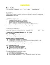 Pastoral Resume Impressive Ministry Resume Templates Cheerful Pastor Resumes Example Youth