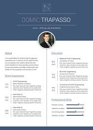 2020 Latest Cv Format Free Hvac Engineer Resume Cv Template In Photoshop Psd