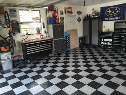 racedeck garage floor installation and review