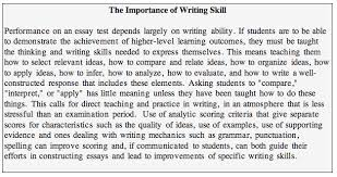 appendix c essay questions too often essay questions place a premium on speed because inadequate attention is paid to reasonable time limits during the test s construction