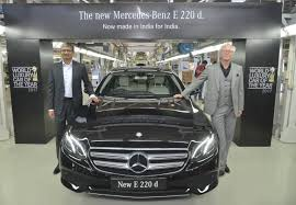 new car launches in puneMercedesBenz launches the Made in India EClass 220 d