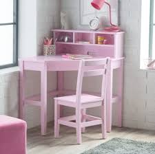school desks for kids computer desk and chair set girl corner hutch writing pink