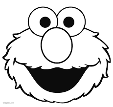 elmo birthday coloring pages. Wonderful Birthday Elmo Face Coloring Pages With Birthday