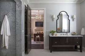 White And Brown Bathroom Color Scheme Design Ideas