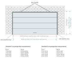 standard garage door width 2 car garage door dimensions garage door sizes standard average 2 1 standard garage door