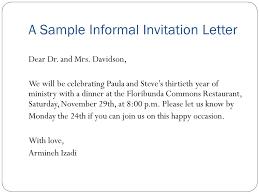 dinner invitation sample dinner invitation letter rome fontanacountryinn com