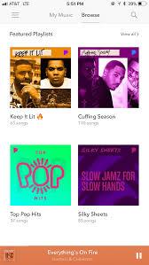 Best Music Streaming App Spotify Apple Music Tidal
