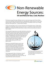 best non renewable energy ideas sustainability non renewable energy sources education backgrounder and printable lesson plans meets canadian curriculum