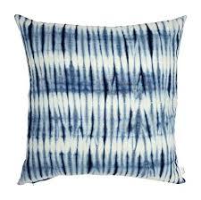 indigo throw pillows. Wonderful Indigo Upcountry Textiles Indigo Collection Shibori HandDyed Tie U0026 Dye Decorative  Throw Throughout Pillows W