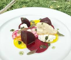 fine dining melbourne fl. beetroot and goats cheese starter fine dining plating wedding event food catering buckinghamshire berkshire http: melbourne fl