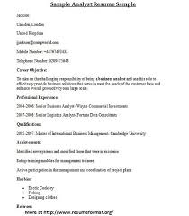 different cover letters for different types of analyst resume formats visit www