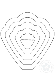 Giant Paper Flower Template Pdf Paper Rose Template Printable Ethercard Co